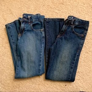 Two Pairs of Boys Children's Place Jeans